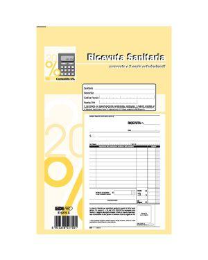 Blocco ricevute sanitarie numerate 50 - 50 fogli autoric. 23x15 e5275c E5275C 8023328527501 E5275C_50266