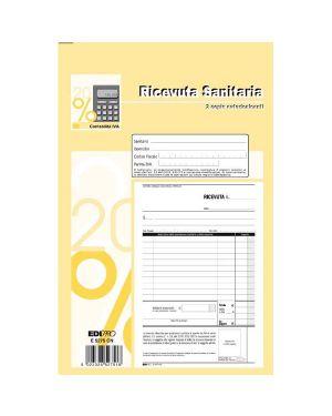 Blocco ricevute sanitarie 50 - 50 fogli autoric. 23x15 e5275cn E5275CN 8023328527518 E5275CN_50267