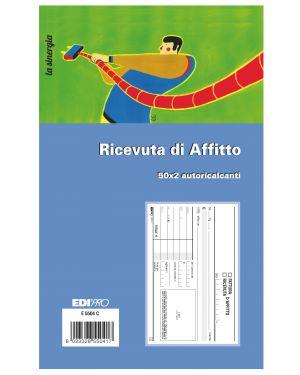 Blocco ricevute d'affitto 50 - 50 fogli autoric. 9,9x17 e5504c E5504C 8023328550417 E5504C_50277