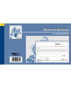Blocco ricevute generiche 50fogli 2 copie autoric. 9,9x17 e5563c E5563C 8023328556310 E5563C_50278