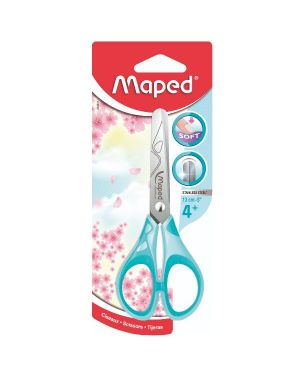 Forbici essential pulse pastel 13cm Maped Cod. 464411 3154144644112 464411