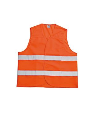 Gilet alta visibil. arancio t.unica Edis S31221 8032765080531 S31221