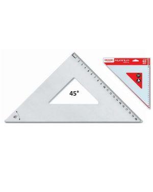 Squadra alluminio profil 45° cm 35 Arda 18040A 8003438180407 18040A