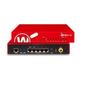 Watchguard firebox t20-w con 1 a Watchguard WGT21001-WW 654522648242 WGT21001-WW