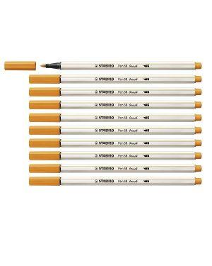 stabilo pen 68 brush arancio Stabilo 568/54 4006381545563 568/54