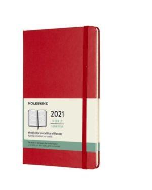 Agenda 12m sett oriz l red hard co Moleskine DHF212WH3Y21 8053853606655 DHF212WH3Y21