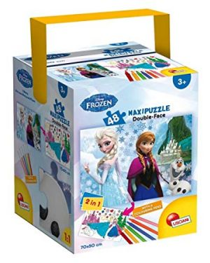 Puzzle in fustino 48 frozen the castle 51304_75756 by Lisciani