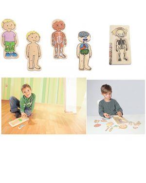 Puzzle in legno multilivello bambina 17128_75897