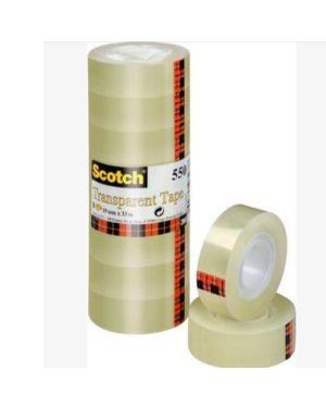 Scotch 550 trasparente  19mmx66m Scotch 63616 3134375261449 63616