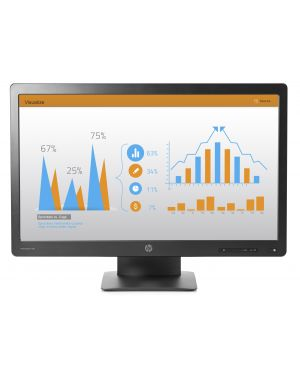 Pro display p232 va 23  led HP Inc K7X31AT#ABB 889296276128 K7X31AT#ABB_943EWCV by Hp - Psg Monitor Top Value