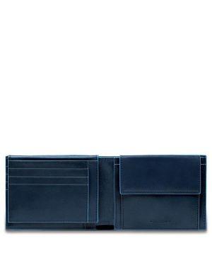 Piquadro pu1392b2r - blu portafoglio Piquadro PU1392B2R/BLU 8024671450799 PU1392B2R/BLU