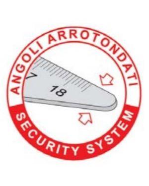 Squadra alluminio profil 60° cm 35 Arda 18140 8003438181404 18140