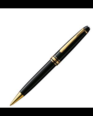 Montblanc Meisterstuck classique 164 - penna a sfera placcata oro OC_6719