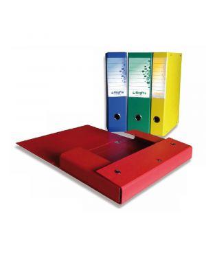 Scatola progetto kingpro 8 giallo c - portaetichetta starline STL5110 8025133029294 STL5110_STL5110