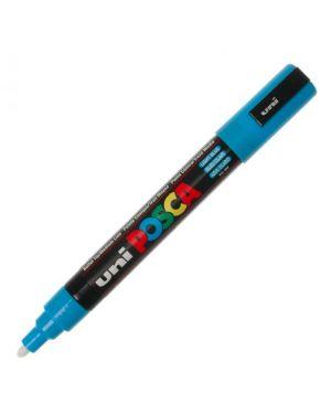 Marcatore uni posca pc5m p.media 1,8-2,5mm azzurro uni mitsubishi M PC5M AZ 4902778916209 M PC5M AZ_36650 by Uni Mitsubishi
