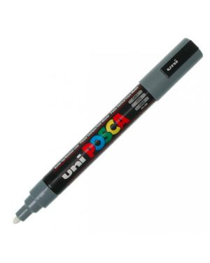 Marcatore uni posca pc5m p.media 1,8-2,5mm grigio uni mitsubishi M PC5M GR 4902778916247 M PC5M GR_36653 by Uni Mitsubishi