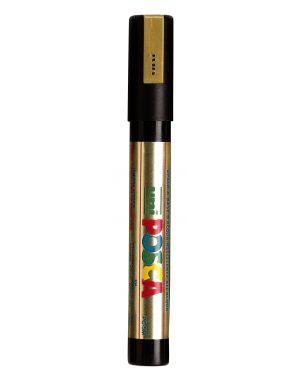 Marcatore uni posca pc5m p.media 1,8-2,5mm oro uni mitsubishi M PC5M ORO 4902778916261 M PC5M ORO_36684 by Uni Mitsubishi