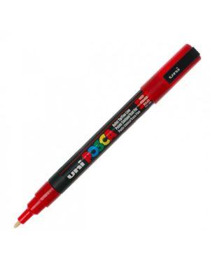 Marcatore uni posca pc3m p.fine 0,9-1,3mm rosso uni mitsubishi M PC3M R 8007404080425 M PC3M R_36788 by Uni Mitsubishi
