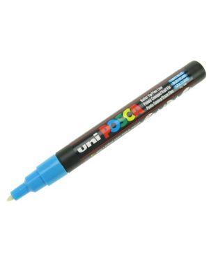 Marcatore uni posca pc3m p.fine 0,9-1,3mm azzurro uni mitsubishi M PC3M AZ 8007404080364 M PC3M AZ_36789 by Uni Mitsubishi