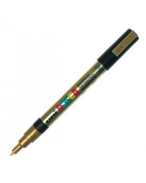 Marcatore uni posca pc3m p.fine 0,9-1,3mm oro uni mitsubishi M PC3M ORO 8007404080494 M PC3M ORO_36799 by Uni Mitsubishi