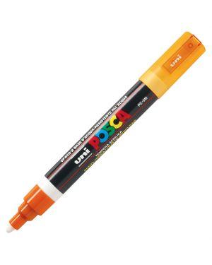 Marcatore uni posca pc5m p.media 1,8-2,5mm arancio uni mitsubishi M PC5M AC 4902778916193 M PC5M AC_39060 by Uni Mitsubishi