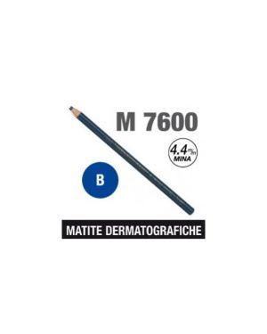 Matita dermatografica 7600 blu Confezione da 12 pezzi M 7600 B_62965