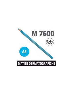 Matita dermatografica 7600 azzurro Confezione da 12 pezzi M 7600 AZ_69918