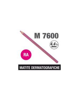 Matita dermatografica 7600 rosa Confezione da 12 pezzi M 7600 RA_69919