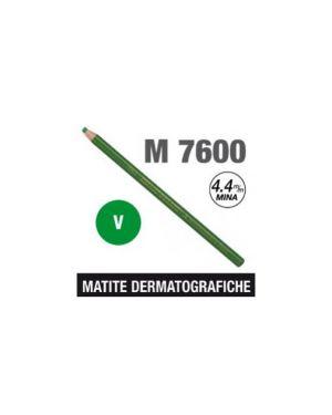 Matita dermatografica 7600 verde Confezione da 12 pezzi M 7600 V_69920