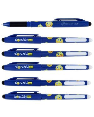 Penna sfera cancellabile riscrivi touch 0,7mm blu osama OW 10141 B 8007404228988 OW 10141 B_73377 by Osama