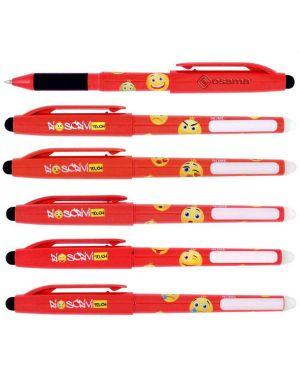 Penna sfera cancellabile riscrivi touch 0,7mm rosso osama CONFEZIONE DA 12 OW 10141 R_73378 by Esselte