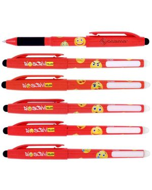 Penna sfera cancellabile riscrivi touch 0,7mm rosso osama OW 10141 R 8007404228995 OW 10141 R_73378 by Osama