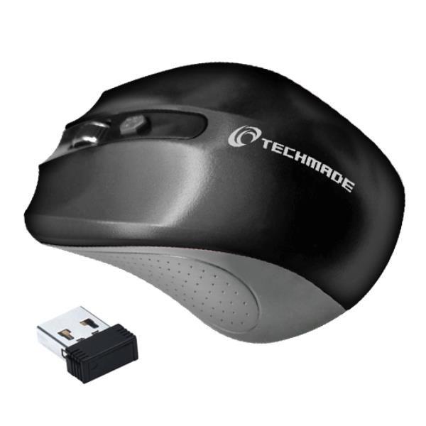 Techmade mouse wirelesstm-xj30-bk Prodotti Bulk TM-XJ30-BK 8099990140089 TM-XJ30-BK by No