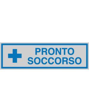 Targhetta adesiva 165x50mm pronto soccorso 96664 77185 A 96664_77185 by Cartelli Segnalatori