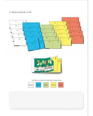 blocco numerato 1 - 100 EdiPro E5406NEW  E5406NEW_50249