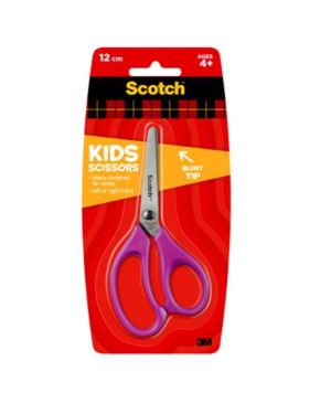 Forbice kids 12cm colori ass Scotch 7000081617 4046719640966 7000081617