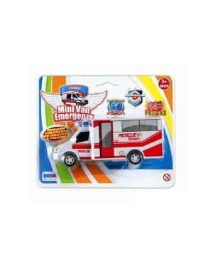 Macchinina mini van emergenza   motorizzato a frizione 5373_500607