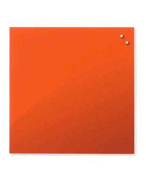Lavagna magnetica in vetro 45x45cm arancio arke' GB10730_75850