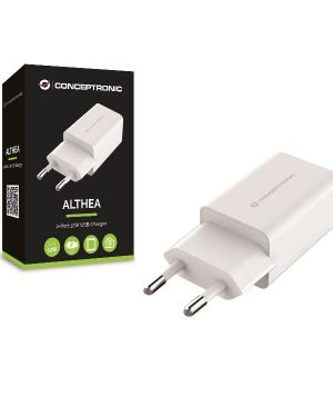 2-port 12w usb charger  2.4a Conceptronic ALTHEA06W 4015867223284 ALTHEA06W