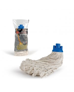 Mop in cotone 280gr bianco in factory 0024F 8000957002463 0024F_76380