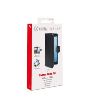 Wally case galaxy note 20 black Celly WALLY922 8021735760498 WALLY922