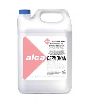 Sapone liquido 5lt per sporco medio dermoman alca ALC578 8032937571089 ALC578_76484