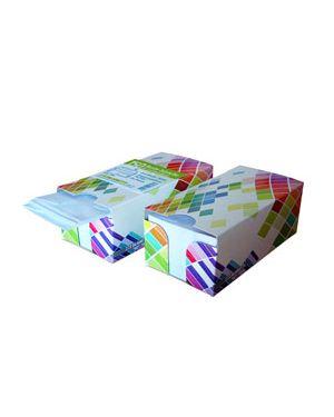Box dispenser 150 buste bianche 110x230mm 90gr c/finestra con strip blasetti 0393_77285