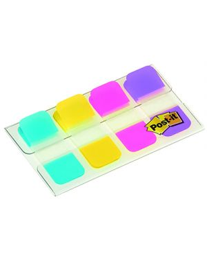 Dispenser post-it segnapagina strong mini 676 mm.4x10 4 colori POST-IT 5156 04054596002722 5156_77394