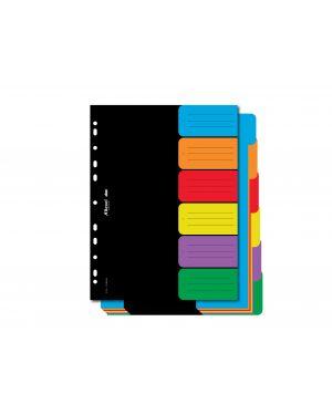 Separatore a4 dox a 6 tasti neutri colorati D26606_77405