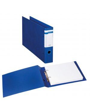 Raccoglitore stelvio f a4 40 2d blu 30x22cm album sei rota 37404307_77416 by Esselte