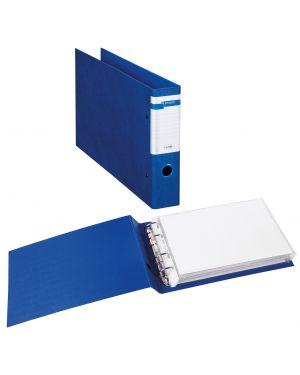 Raccoglitore stelvio f a4 40 4d blu 30x22cm album sei rota 37404507_77417 by Esselte