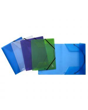 Cartella 3l c/elastico 22x30cm mix 4 colori 2ndlife favorit CONFEZIONE DA 4 400067715_77442