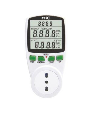 Misuratore di potenza e consumi power easy c - display lcd melchioni 530134221 8006012301601 530134221_77586