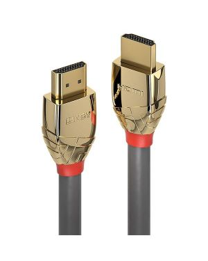 Cavo hdmi high speed gold line 3m Lindy 37863 4002888378635 37863